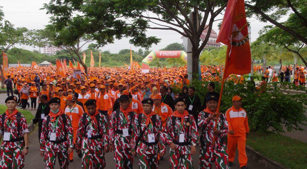 Deklarasi dan Jalan Santai Yaskum Indonesia